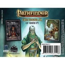 -  Pathfinder - Lot 1 - Cartes Tourment & Poursuite