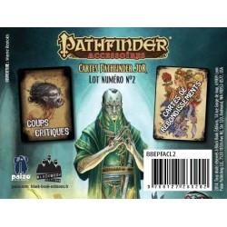 -  Pathfinder - Lot 2 - Cartes Critiques & Rebondissements
