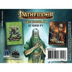 -  Pathfinder - Lot 4 - Cartes Préjudiciables & Bonus
