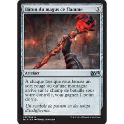 Artefact - Bâton du magus de flamme (U) [M15]