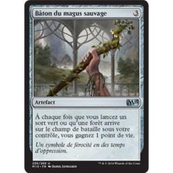 Artefact - Bâton du magus sauvage (U) [M15]