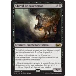 Noire - Cheval de cauchemar (R) [M15]