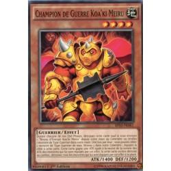 Champion de Guerre Koa'ki Meiru  (C) [BP03]