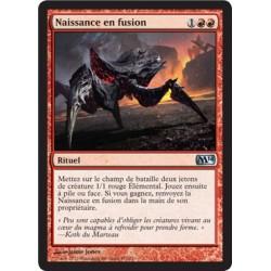 Rouge - Naissance en fusion (U) [M14] FOIL