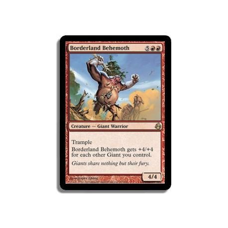 Rouge - Behemoth des Frontières (R)