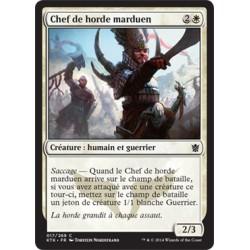 Blanche - Chef de horde marduen (C) [KTK]