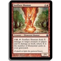Rouge - Shamane Solaire Flamboyante (C)
