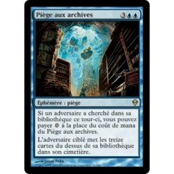 Bleue - Pièges aux Archives (R)