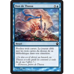 Bleue - Don de Thassa (C) [THS] FOIL