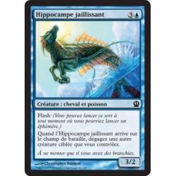 Bleue - Hippocampe jaillissant (C) [THS] FOIL