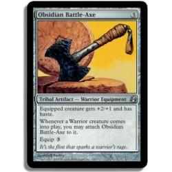 Artefact - Hache de Bataille d'Obsidienne (U)