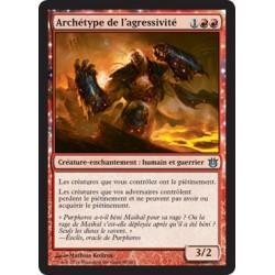 Rouge - Archétype de l'agressivité (U) [BNG] FOIL