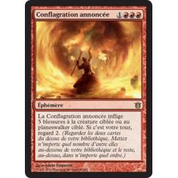 Rouge - Conflagration annoncée (R) [BNG] FOIL