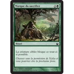Verte - Marque du sacrifice (C) [BNG] FOIL