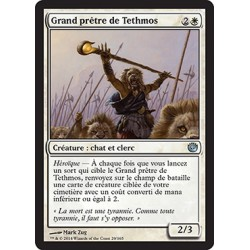 Blanche - Grand prêtre de Tethmos (U) [JOU] FOIL