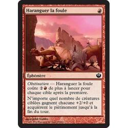Rouge - Haranguer la foule (C) [JOU] FOIL