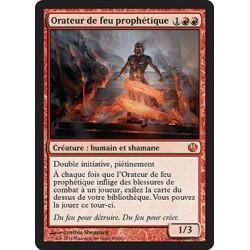 Rouge - Orateur de feu prophétique (M) [JOU] FOIL