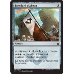 Artefact - Etendard d'Abzan (C) [KTK] FOIL