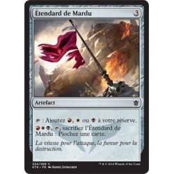 Artefact - Etendard de Mardu (C) [KTK] FOIL