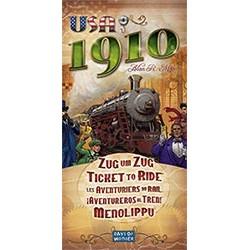 Les Aventuriers du Rail : 1910
