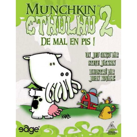 Munchkin Cthulhu 2 - De mal en pis