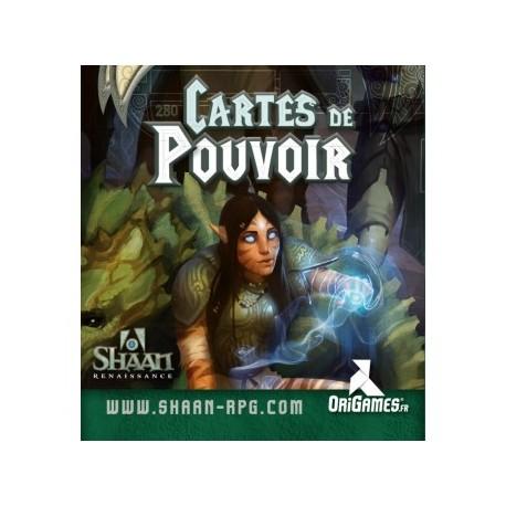 Shaan Renaissance - Cartes Pouvoirs
