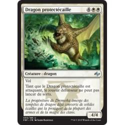 Blanche - Dragon protectécaille (U) (FOIL) [FRF]