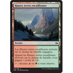 Terrain - Hautes terres rocailleuses (C) (FOIL) [F