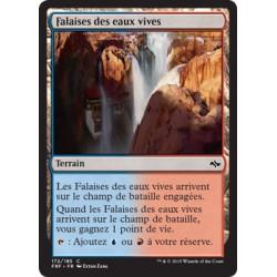 Terrain - Falaises des eaux vives (C) (FOIL) [FRF]