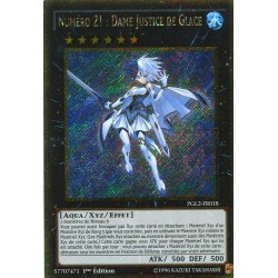 Numéro 21 : Dame Justice De Glace (STR GOLD) [PGL2