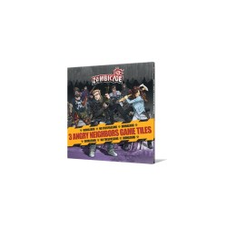 -  Zombicide - Angry Neighbors - Game Tiles