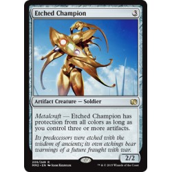 Artefact -  Etched Champion (R) [MM2] FOIL