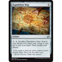 Artefact -  Expedition Map (U) [MM2] FOIL