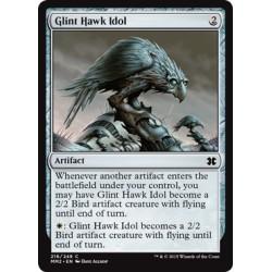 Artefact - Glint Hawk Idol (C) [MM2] FOIL