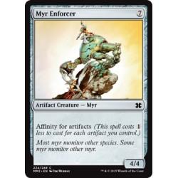 Artefact - Myr Enforcer (C) [MM2] FOIL