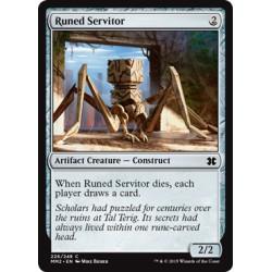 Artefact - Runed Servitor (C) [MM2] FOIL