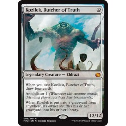 Incolore -  Kozilek, Butcher of Truth (M) [MM2] FO