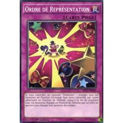 Ordre de Représentation  (C) [SP15]