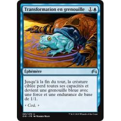 Bleue - Transformation en grenouille (U) [ORI]