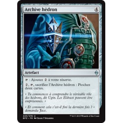 Artefact - Archive hèdron (U) [BFZ]