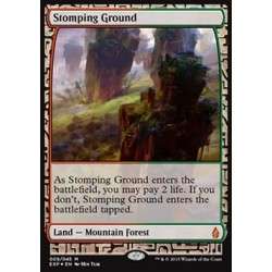 Terrain - Zendikar Expeditions Stomping Ground (FOIL)
