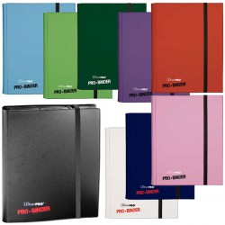- Portfolio Pro-Binder 9 cases / 20 pages