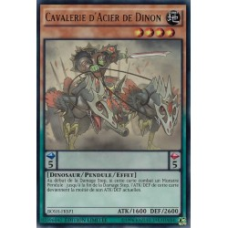 Yugioh - Cavalerie d'Acier de Dinon (SR) [BOSH]