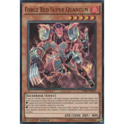 Yugioh - Force Red Super Quantum (UR) [WIRA]