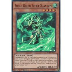 Yugioh - Force Green Super Quantum (SR) [WIRA]
