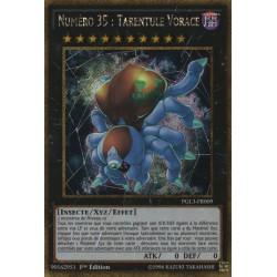 Yugioh - Numéro 35 : Tarentule Vorace (STR Gold) [PGL3]