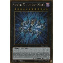 Yugioh - Numéro 77 : Les Sept Péchés (STR Gold) [PGL3]