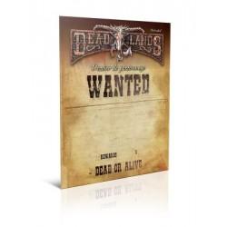 JDR Deadlands Reloaded Dossier de Personnage