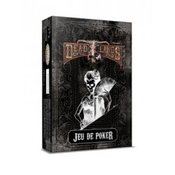 Deadlands - Reloaded - Jeu de poker noir