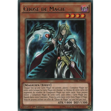 Yugioh - Chose De Magie (R) [TDIL]